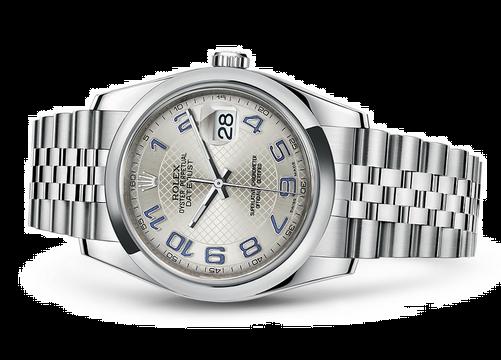 Rolex Datejust 116200-0088 Swiss Automatic Silver Dial Jubilee Bracelet 36MM