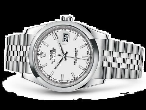 Rolex Datejust 116200-0100 Swiss Automatic Watch White Dial Jubilee Bracelet 36MM