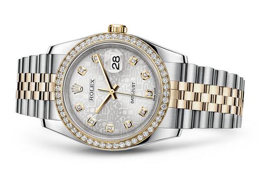 Rolex Datejust 116243-0002 Swiss Automatic Pattern Dial Jubilee Bracelet 36MM