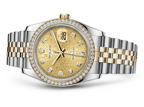 Rolex Datejust 116243-0004 Swiss Automatic Pattern Dial Jubilee Bracelet 36MM