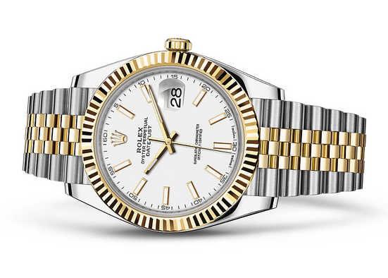 Rolex Datejust 126333-16 Swiss Automatic Watch Jubilee Bracelet 41MM
