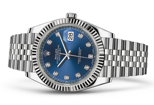 Rolex Datejust 126334-16 Swiss Automatic Watch Blue Dial Jubilee Bracelet 41MM