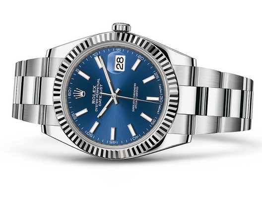 Rolex 2017 Datejust II Swiss Automatic Watch-Blue Dial 41MM