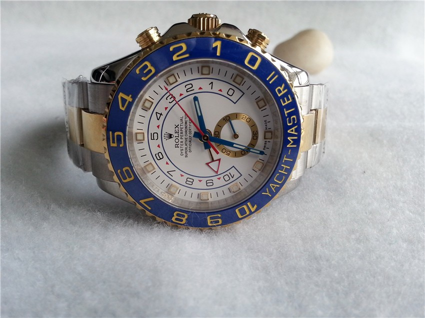 Rolex Yacht-Master II Swiss Automatic Watch Two Toned Yellow Gold