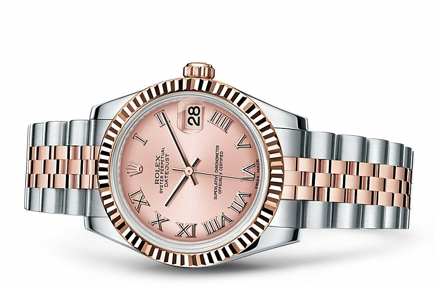 Rolex Datejust Ladies 178271-0068 Swiss Automatic Pink Dial 31MM