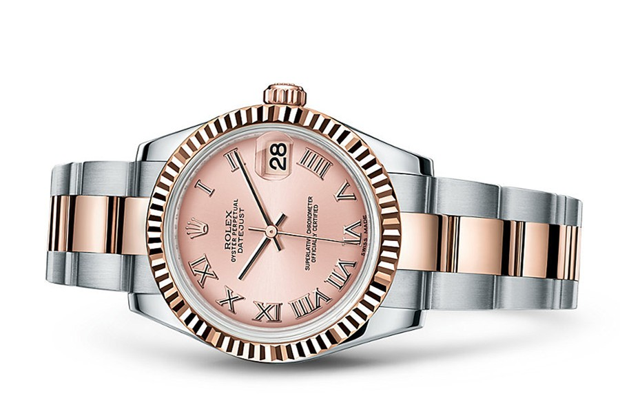 Rolex Datejust Ladies 178271-0062 Swiss Automatic Pink Dial 31MM