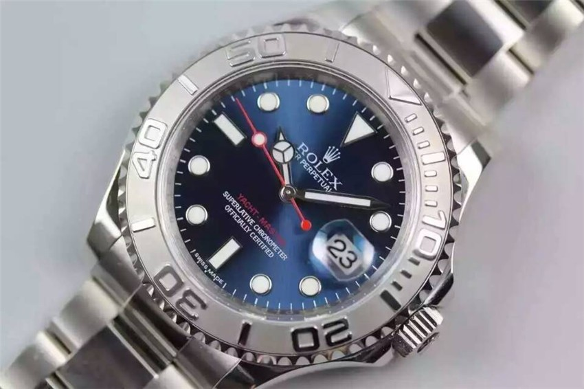 Rolex Yacht-Master Swiss Automatic Watch Blue Dial