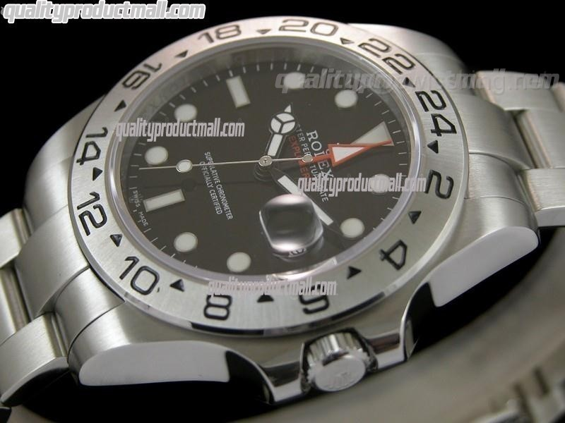 Rolex Explorer II 2011 Baselworld Edition Swiss Automatic Watch Black Dial