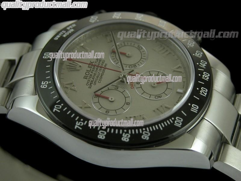 Rolex Daytona Project X Limited Edition Swiss Chronograph-Grey Dial Grey Subdials-Stainless Steel Strap