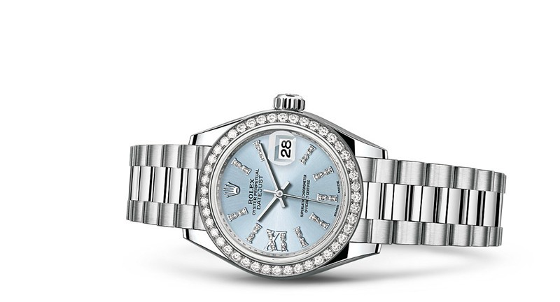 Rolex Datejust Ladies 279136-0001 Swiss Automatic Watch Diamonds Watch 28MM