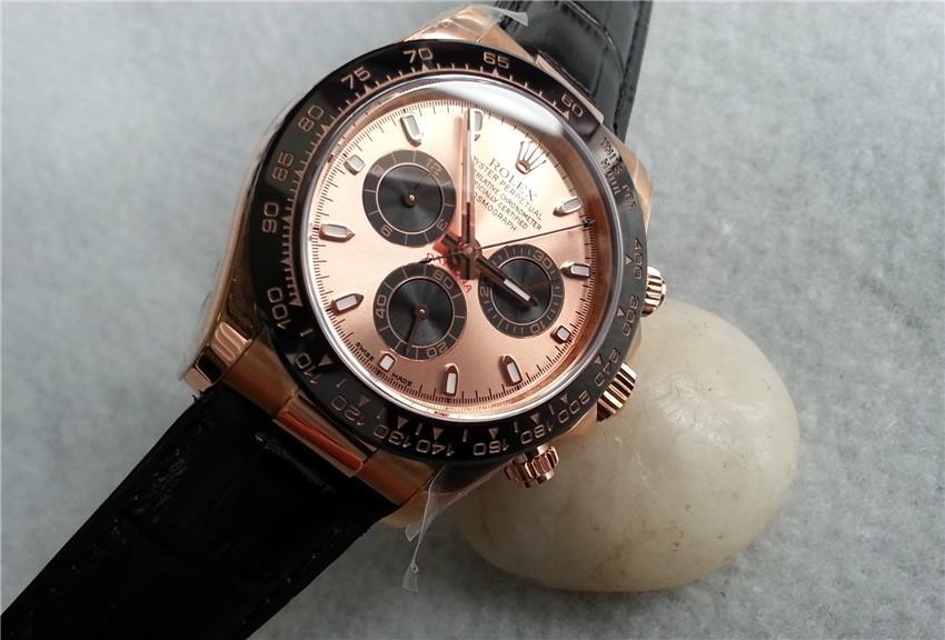 Rolex 2017 Daytona Cosmograph 116515 Swiss Chronograph Leather