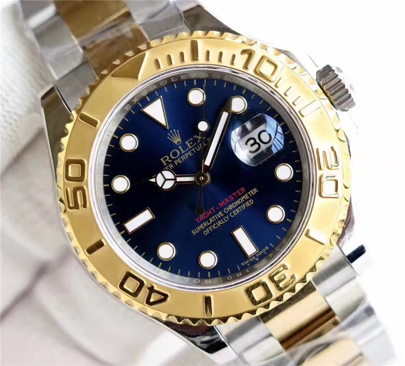 Rolex Yachtmaster 3135 Automatic Watch Blue Dial
