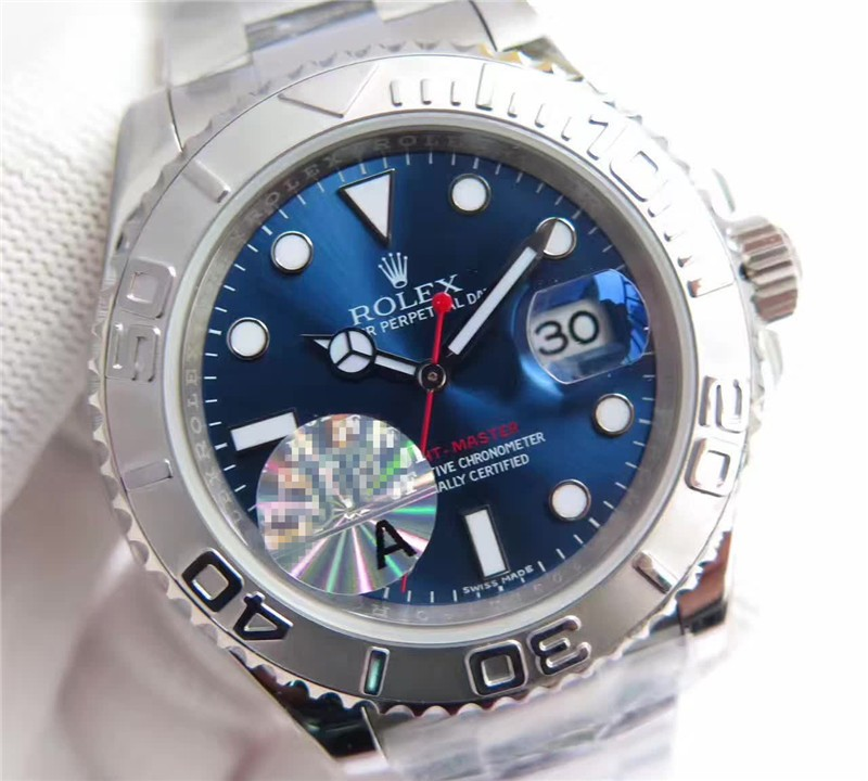 Rolex Yacht-Master Swiss 3135 Automatic Watch Blue Dial