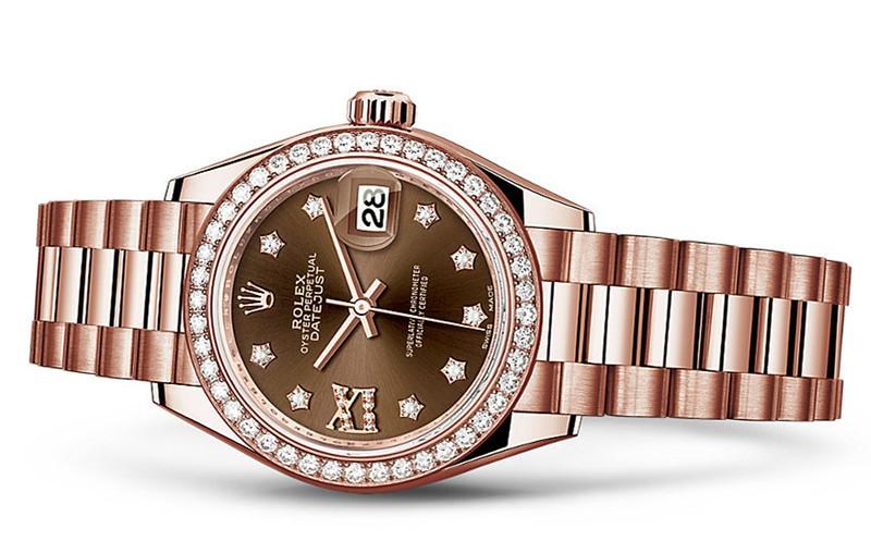 Rolex Datejust Ladies 279135RBR-0001 Swiss Automatic Brown Dial 28MM