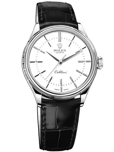 Rolex Cellini 2016 Swiss 3132 Automatic Watch White Dial 39MM