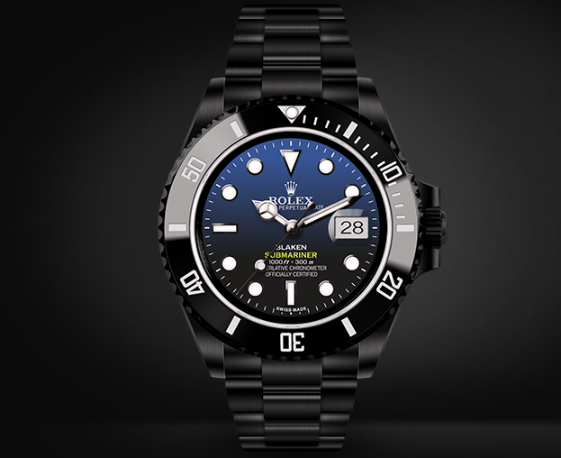 Submariner Automatic Watch D-Blue Dial By Blaken