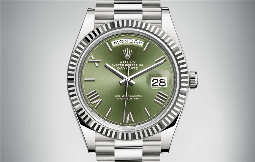 Rolex Day-Date 228239 2016 Swiss 3235 Automatic Watch Green Dial Presidential 40MM