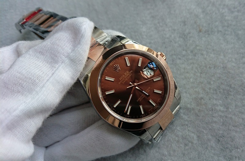 Rolex Datejust 126301-1 Swiss Automatic Watch Brown Dial 41MM