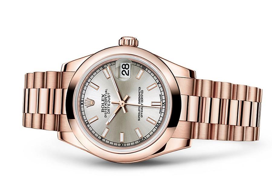 Rolex Datejust Ladies 178245F-0014 Swiss Automatic Gray Dial 31MM