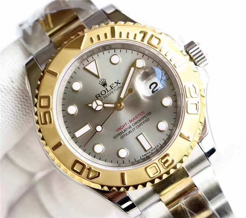 Rolex Yachtmaster 3135 Automatic Watch Gray Dial
