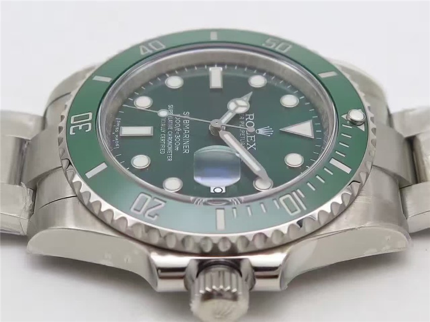 Rolex Submariner Swiss Automatic Watch-Green Dial