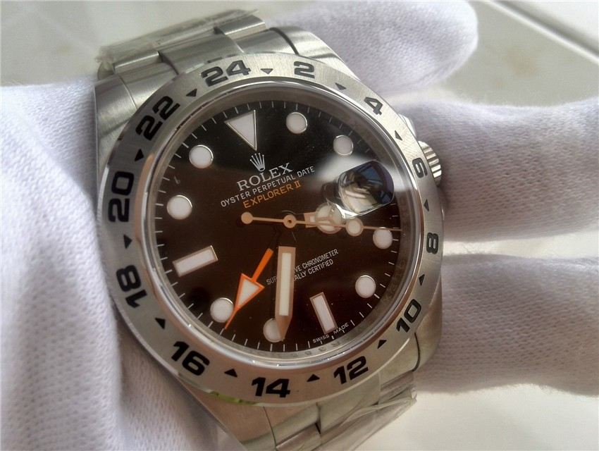 Rolex Explorer II 2011 Baselworld 216570 Swiss Automatic Black Dial