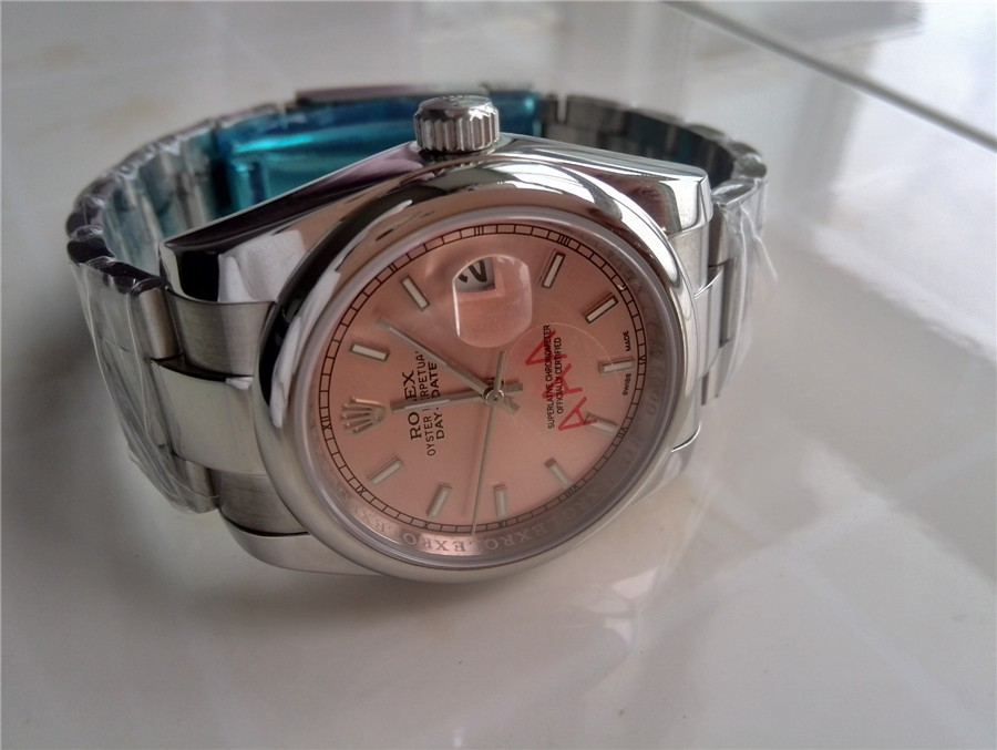 Rolex Day-Date E741 Automatic-Rose Gold Dial Gormment Markers 38MM