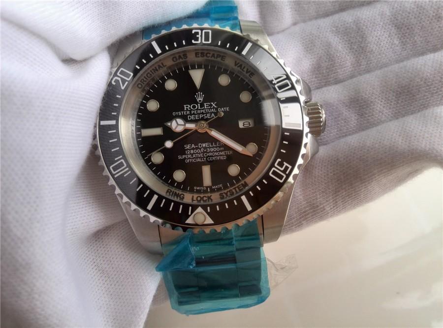 Rolex Deepsea Sea-Dweller Automatic Watch Black Dial