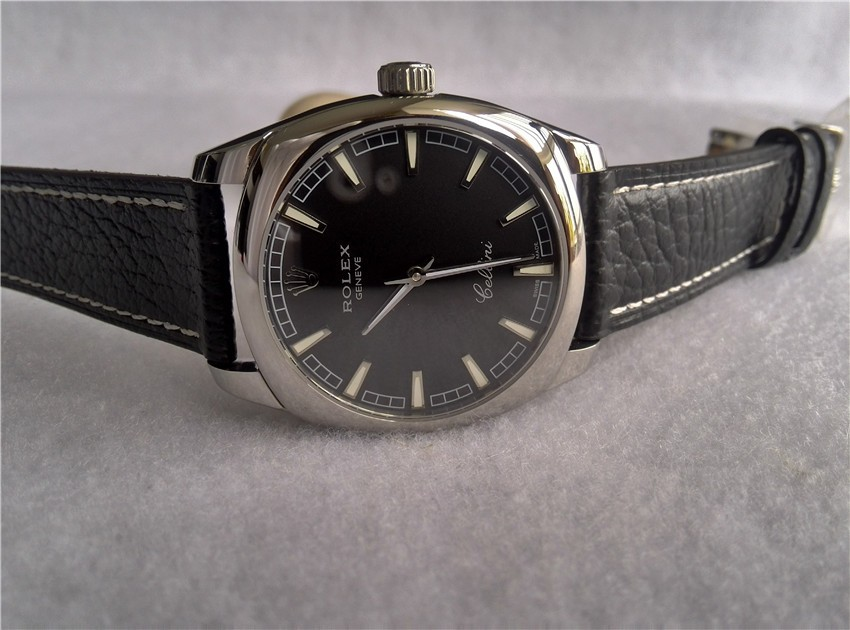 Rolex Cellini Swiss eta 2824 Automatic Watch-Stainless Steel Case