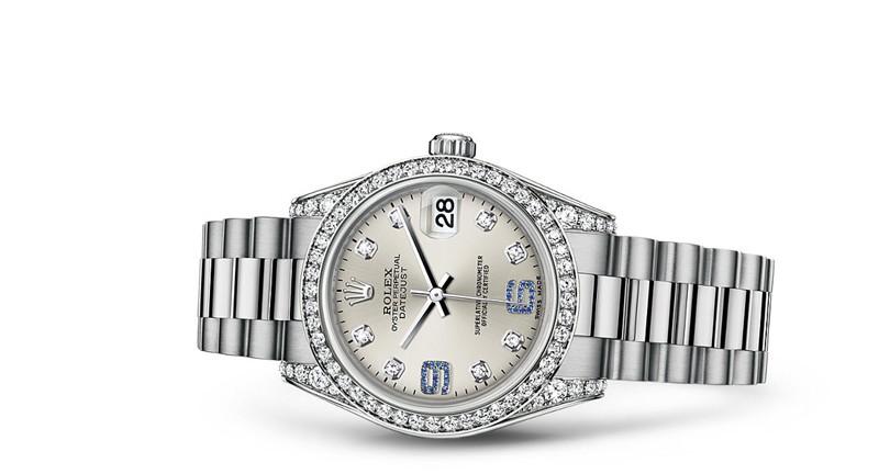 Rolex Datejust 1778159-0054 Swiss Automatic Silver Dial Presidential Bracelet 31MM