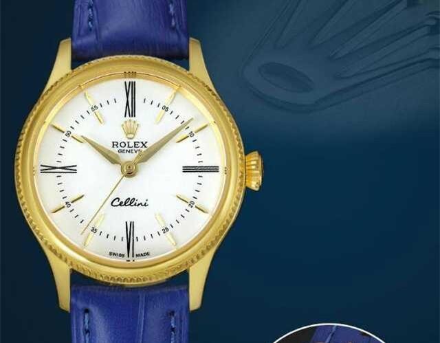 Rolex Cellini Swiss eta 2824 Automatic Women Watch 01