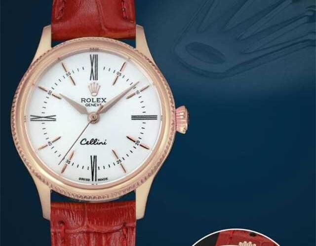 Rolex Cellini Swiss eta 2824 Automatic Women Watch 02