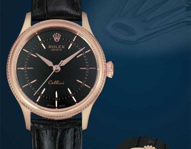Rolex Cellini Swiss eta 2824 Automatic Women Watch 03