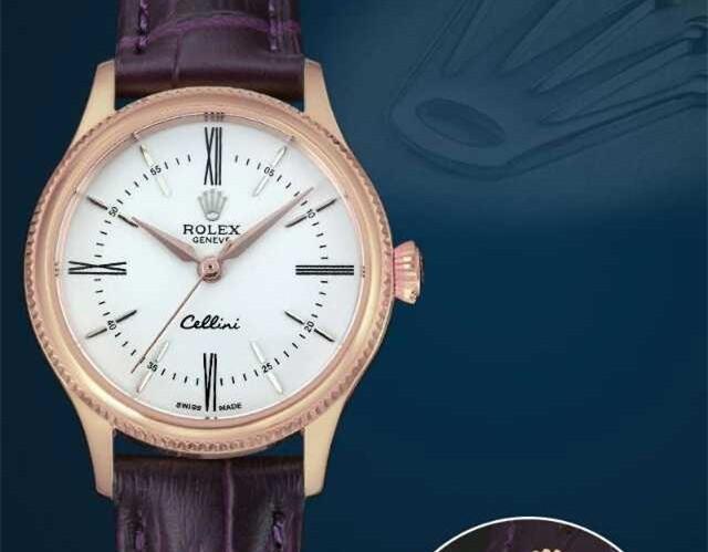 Rolex Cellini Swiss eta 2824 Automatic Women Watch 05