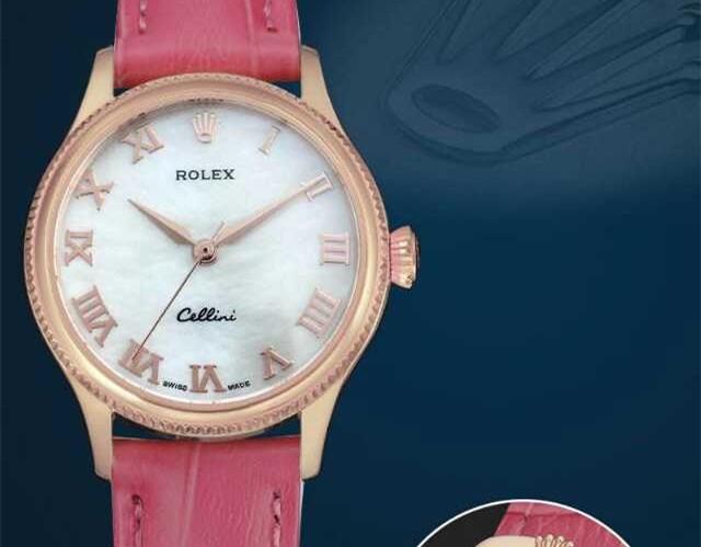 Rolex Cellini Swiss eta 2824 Automatic Women Watch 06
