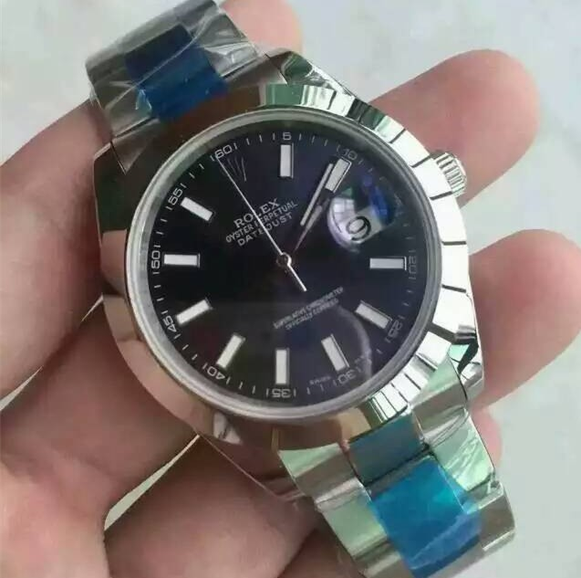 Rolex Datejust II Swiss Automatic Watch-Royal Blue Dial