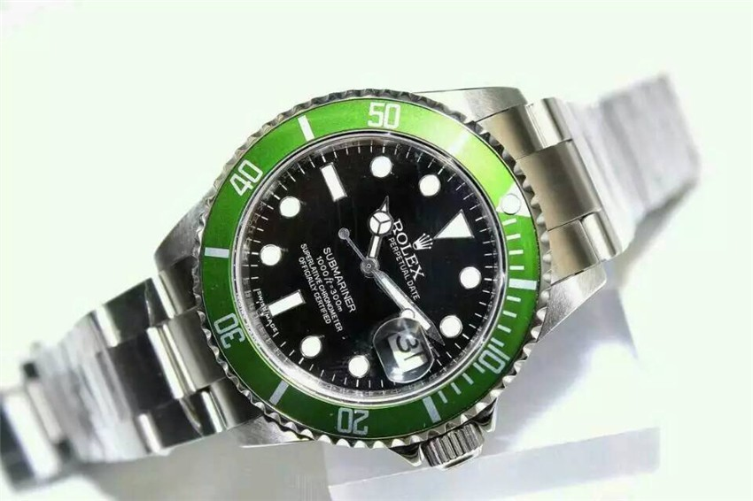 Rolex Submariner Automatic Watch Classic 2008 Black Dial