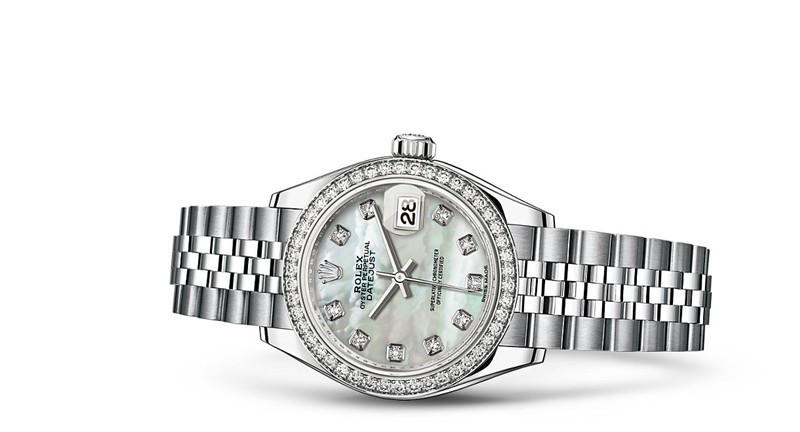 Rolex Datejust Ladies 279384-0011 Swiss Automatic MOP Dial 28MM