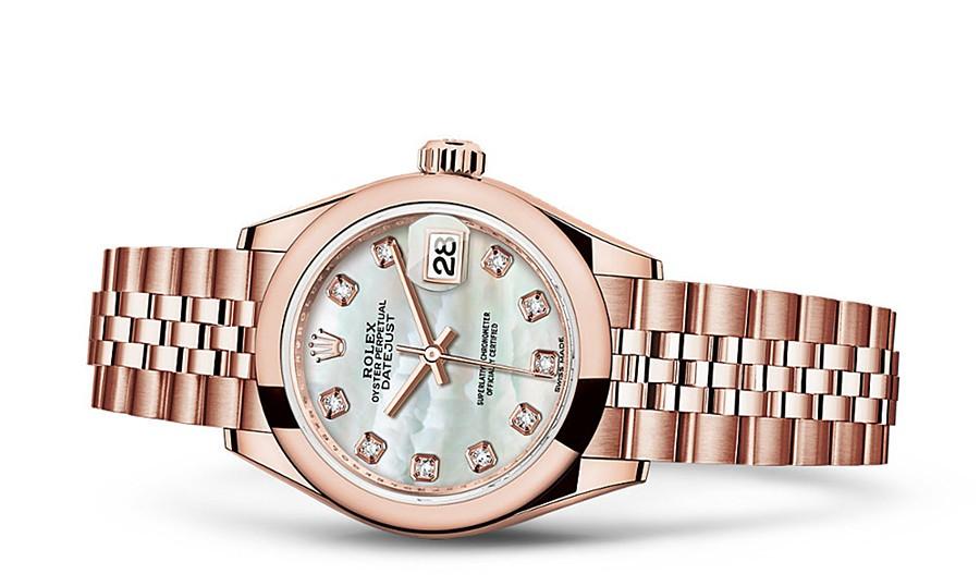 Rolex Datejust Ladies 279165-0018 Swiss Automatic MOP Dial 28MM