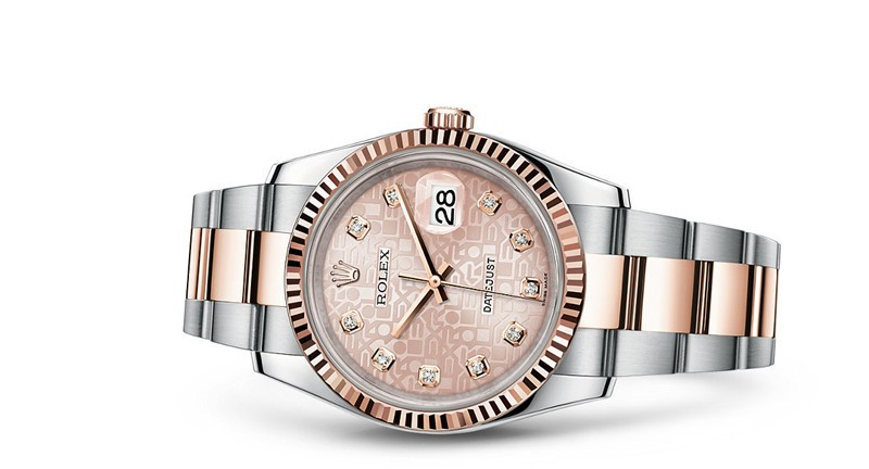 Rolex Datejust 116231-0076 Swiss Automatic Watch Pink Dial 36MM