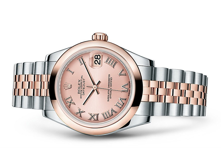 Rolex Datejust Ladies 178241-0064 Swiss Automatic Pink Dial 31MM