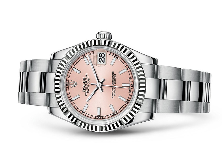 Rolex Datejust Ladies 178274-0027 Swiss Automatic Pink Dial 31MM