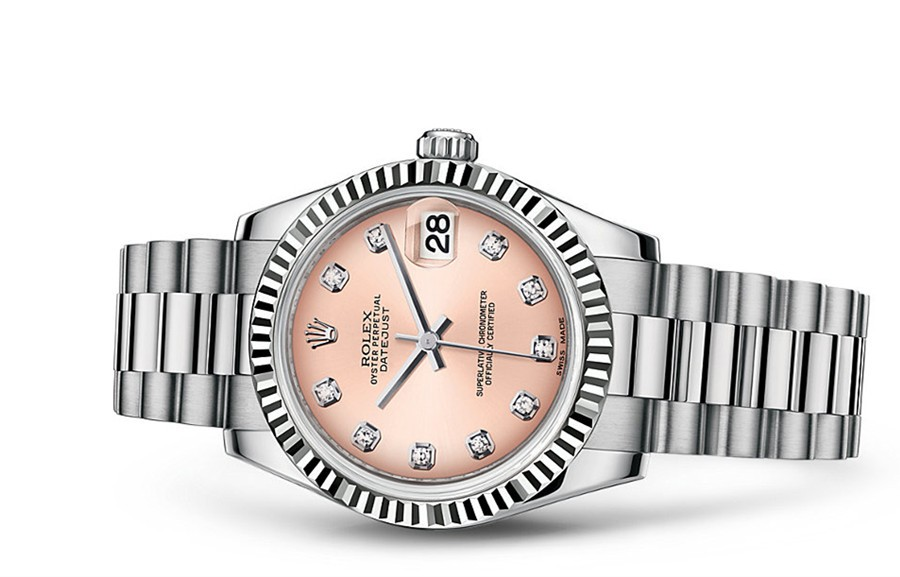 Rolex Datejust Ladies 178279-0036 Swiss Automatic Pink Dial 31MM