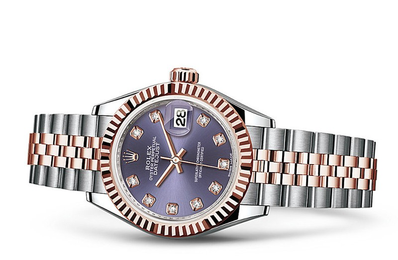 Rolex Datejust Ladies 279171-0015 Swiss Automatic Purple Dial 28MM