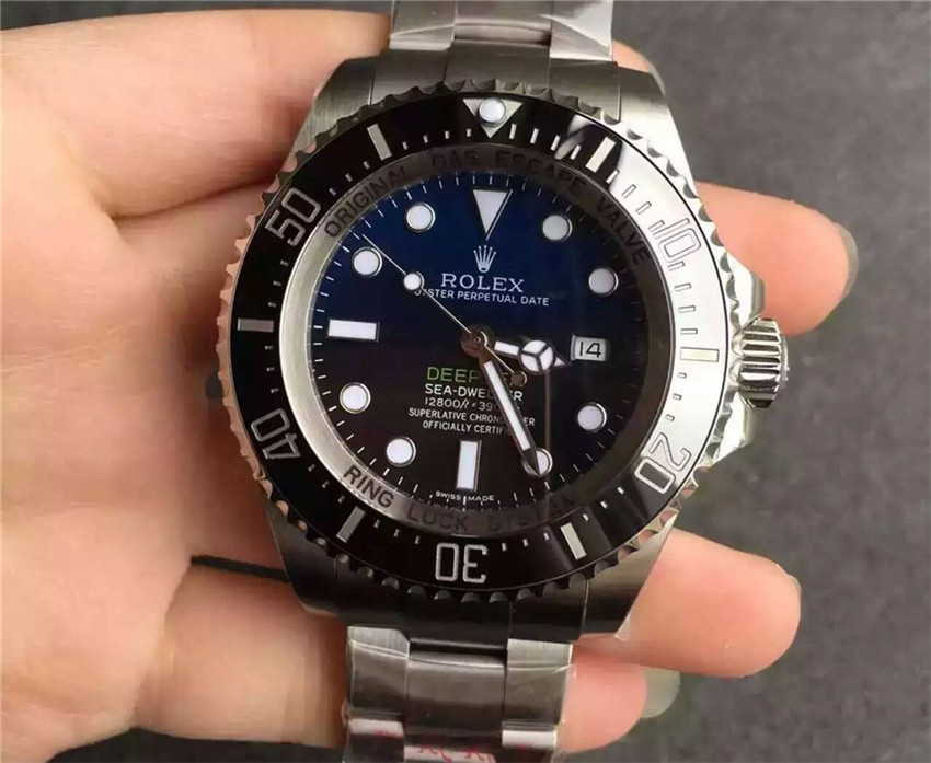 Rolex Sea Dweller DeepSea D-Blue Swiss 3135 Automatic Watch