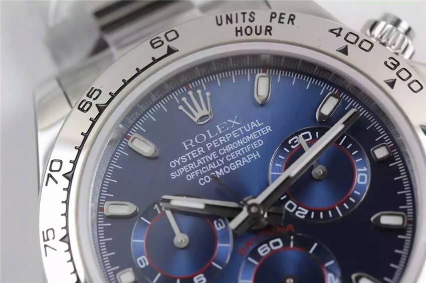 Rolex Daytona Cosmograph Swiss Chronograph Dark Blue Dial
