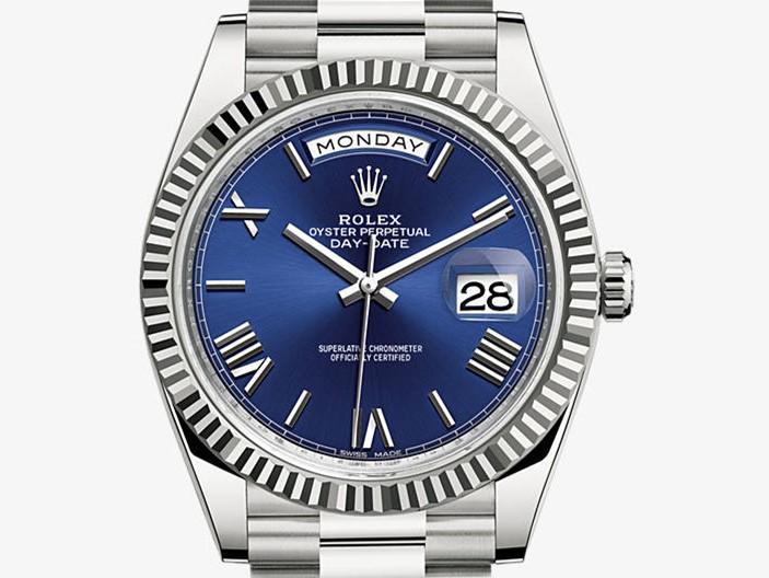 Rolex Day-Date 2016 Swiss Automatic Watch Dark Blue Dial