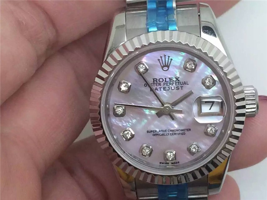 Rolex Datejust Ladies Watch Pink Dial