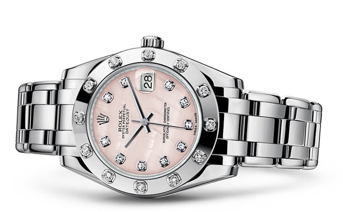 Rolex Pearlmaster Automatic Watch 81319-0017 34mm