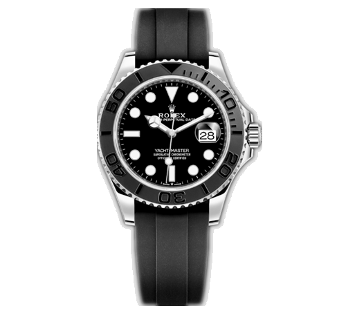 Rolex Yacht-Master Swiss Automatic Watch Black Dial Steel Casing